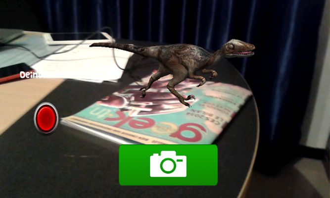 dinosaur 4D screenshot apk 0