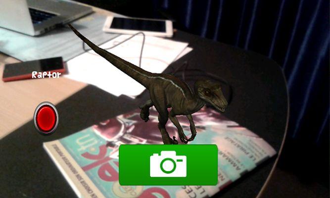 dinosaur 4D screenshot apk 2