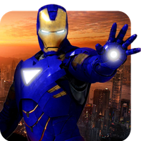 Grand Iron Superhero Flying Robot Rescue Mission APK Simgesi