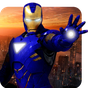 Grand Iron Superhero Flying Robot Rescue Mission  APK