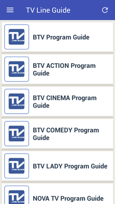 Download Mobile TV Guide Online 1 1 free APK Android