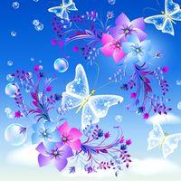 Icoană fluture imagini de fundal vii