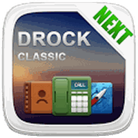 Ícone do apk Drock Next Launcher 3D Theme