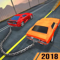 Chained Cars Racing Rampage APK icon