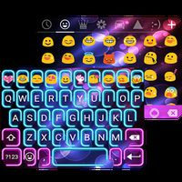Ícone do apk Neon Night Messages Theme