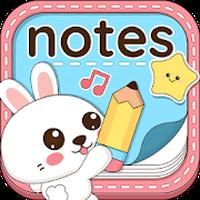 Ícone do Niki: Aplicativo de Notas Fofas