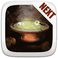 Ikona apk Next Launcher Theme Halloween