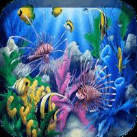 Aquarium 3D Live Wallpaper APK Simgesi
