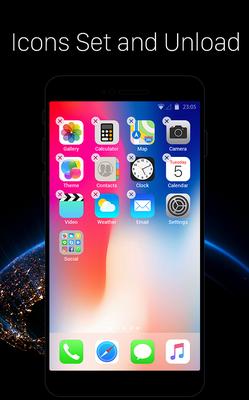 Baixar Launcher for iOS: New iPhone X ios 11 Style Theme 2 0