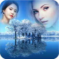 Waterfall photo frame apk download from moboplay.