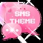 Pink Sevimli Tatlı Tema GO SMS 3.3