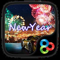 Ícone do New Year GO Launcher Theme