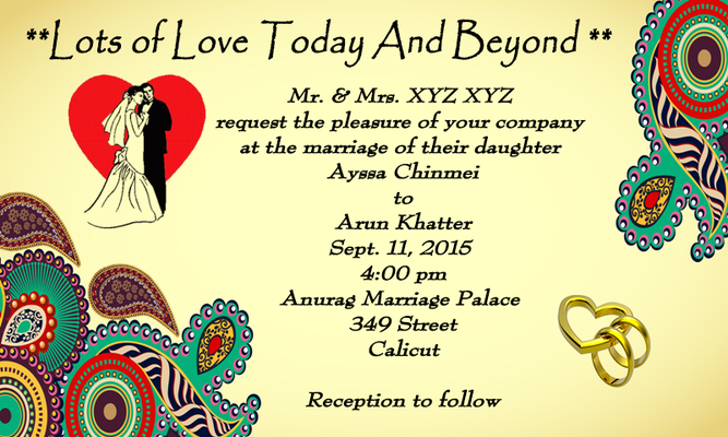 Wedding Invitation Cards Maker Android Free Download