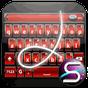 SlideIT Red Metal Skin 4.0 APK