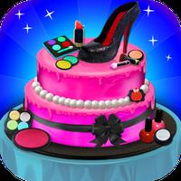Prinses Make-up Cake Maker APK icon