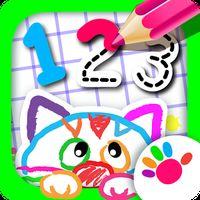 123 Zeichnen! Zahlenspiele Icon