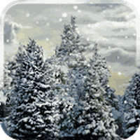 Snowfall Free Live Wallpaper Simgesi