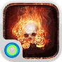 The Flame Skull Hola Theme  APK