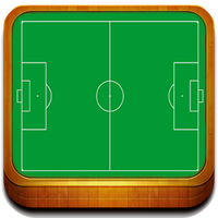 Icono de Pizarra Futbol Entrenador