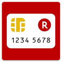 楽天カード:明細確認・家計簿レシート撮影アプリ。ATM検索も アイコン