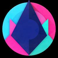 Unicorn Dark - Icon Pack Simgesi