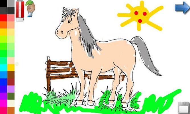 Libro para colorear: caballos 1.0.5 Android - Descargar gratis