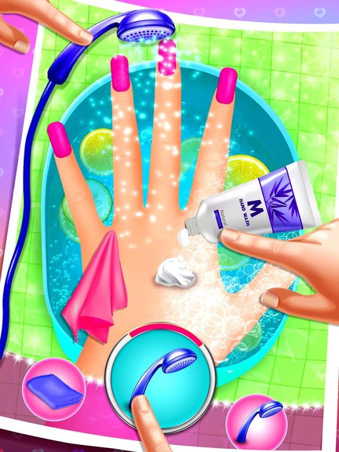 Nail Art Salon Simulator Android - Baixar Nail Art Salon Simulator ...