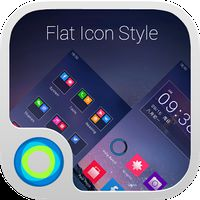 Flat Icon Style Hola Teması APK Simgesi