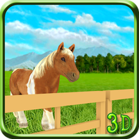 Pony Pferd Simulator 3D Kids APK Icon