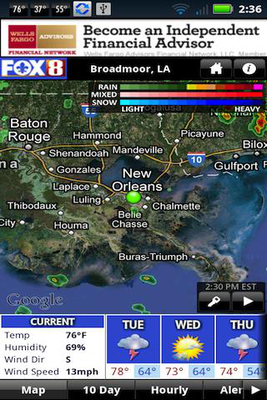 FOX 8 Weather Android - Free Download FOX 8 Weather App