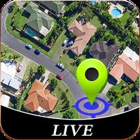 Ikon apk jalan Hidup Melihat & GPS Satelit Peta Navigasi