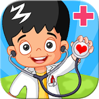 Little Kids Hospital Emergency Doctor - free app APK icon