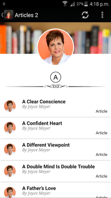 Joyce Meyer's Sermons & Quotes Android - Free Download Joyce