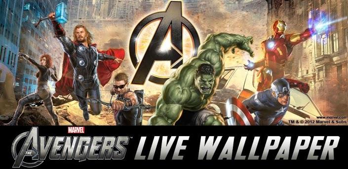 Téléchargezthe Avengers Live Wallpaper V22 Apk Gratuit Pour Votre
