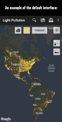 Light Pollution Map - Dark Sky Finder Astro Tools Android