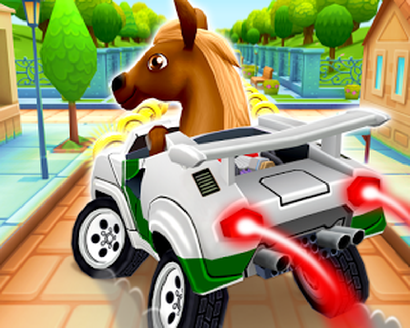 Pony Craft Unicorn Car Racing Boy Girl Driving 1 0 12 Android Tải