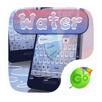 Ícone do Water GO Keyboard Theme