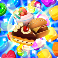 Food Crush:sweet puzzle icon