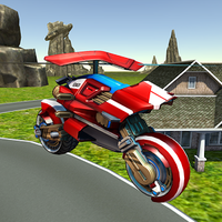 Icono de Flying Helicopter Motorcycle