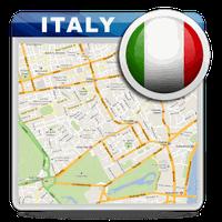 Ícone do Itália Offline Road Map