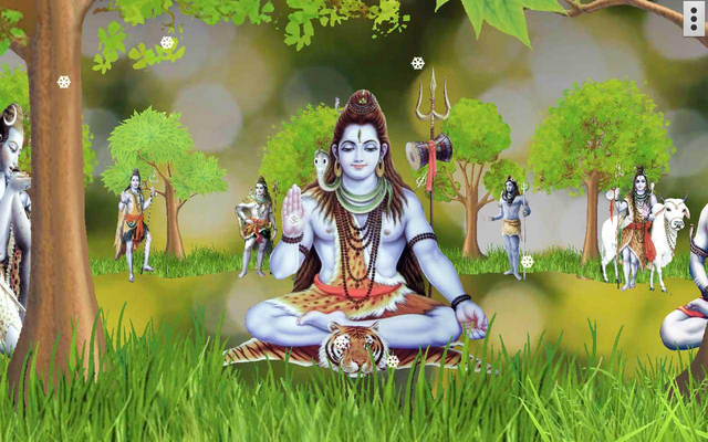 4d Shiva Live Wallpaper Android Free Download 4d Shiva Live