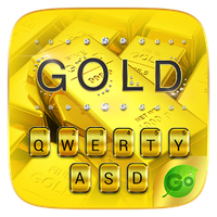 Ícone do Pure Gold GO Keyboard Theme