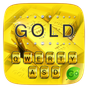 Pure Gold GO Keyboard Theme 4.15