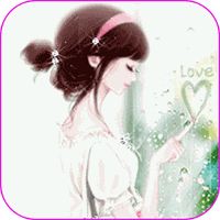 Classical Girl Live Wallpaper icon