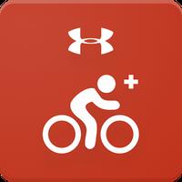 Ícone do MapMyRide+: Bicicleta com GPS