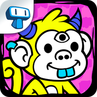 Ícone do Monkey Evolution - Clicker