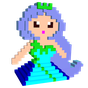 Princess 3D Color by Number: Voxel Coloring Book