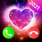 tela do tema do chamador - telefone da cor