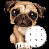Unicorn Pug Color By Number Pixel No Draw Apk Free Download For Android