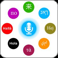 Иконка Универсальный голосовой переводчик: голос и текст